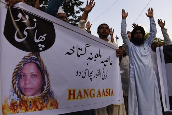 manifestants islamistes mort Asia Bibi