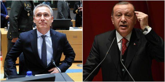 président turc ennemi OTAN