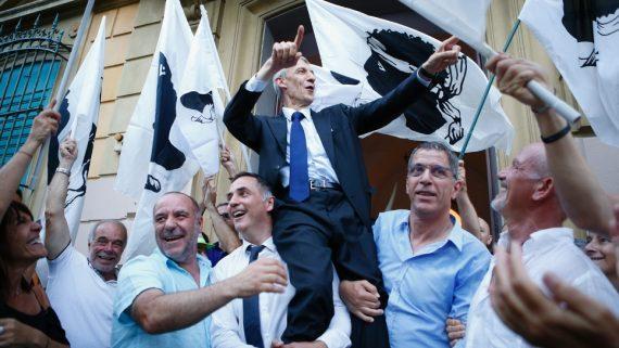 45 pourcentage Corses voté coalition autonomistes indépendantistes modérés élections