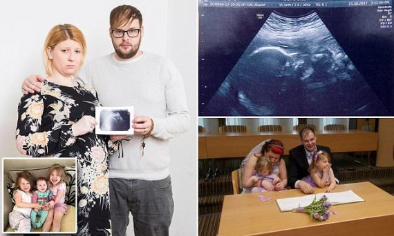 Britannique porter enfant malade naissance donner organes