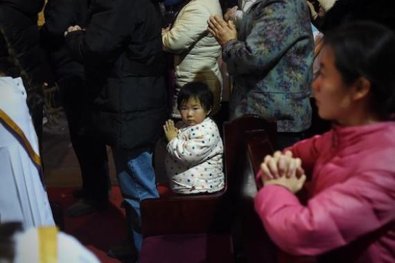 Chine empêche jeunes aller église