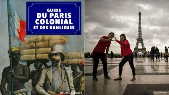 Guide Paris Colonial Histoire France Repeinte Noir