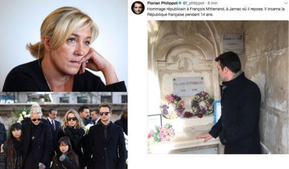 Philippot Tombe Mitterrand Coming Vampire