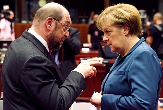 Schulz Etats Unis Europe grande coalition