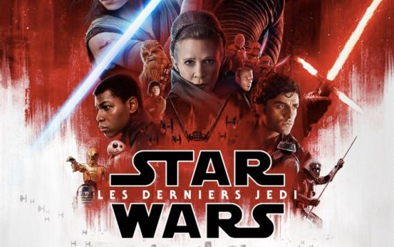 Starwars derniers Jedi science fiction enfants film
