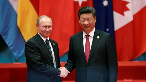 Vladimir Poutine Russie Chine partenaires stratégiques