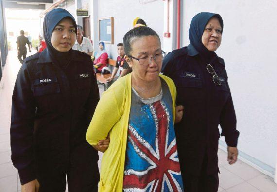 ménagère six mois prison insulte Prophète Taman Perpaduan Malaisie