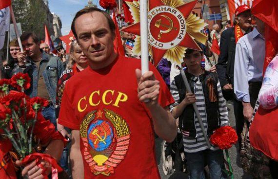 nombre Russes écroulement Union soviétique plus haut 2009