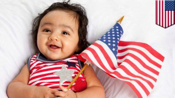 nombre bébés ancre nés clandestin Etats Unis boom