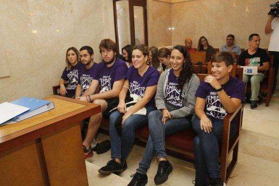 prison militants pro IVG messe Baléares