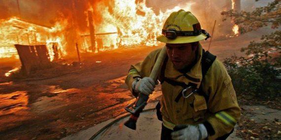 réchauffement incendie Thomas Californie erreurs politiques