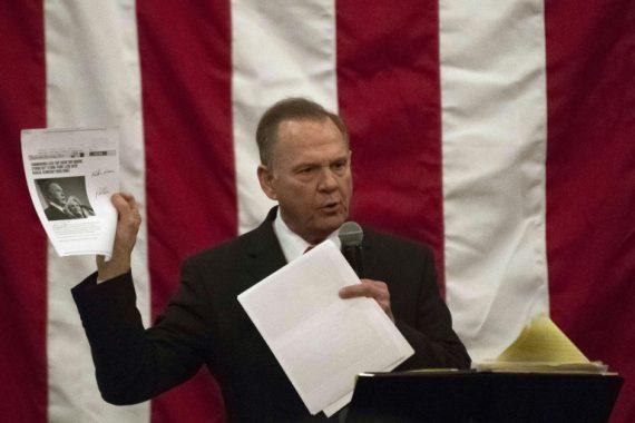 sénatoriale Alabama Campagnes diffamatoires médias battre Roy Moore