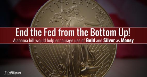 Alabama monnaies or argent Fed