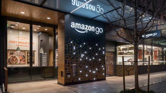Amazon Go premier magasin sans caisses Seattle