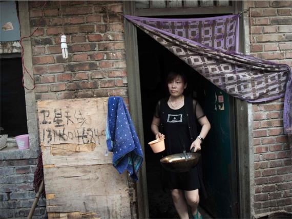 Chine reloger millions personnes lutte contre pauvreté