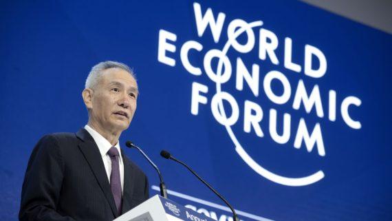 Davos Chine mondialisme Trump