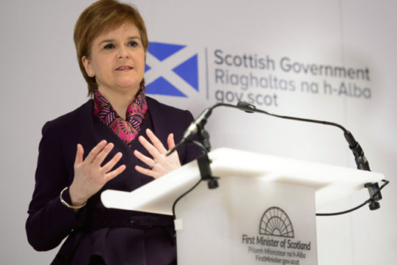 Ecosse Sturgeon SNP immigration Brexit