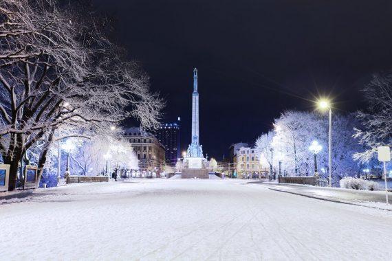Lettonie vide depuis adhéré Union européenne