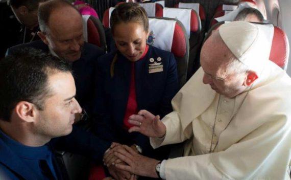 Mariage vol pape François