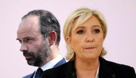 Marine Pen impopulaire Démocratie Révolution Edouard Philippe