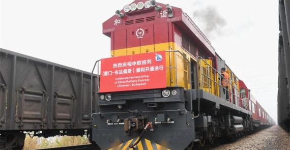 Nouveau lien ferroviaire maritime fret Chine Europe