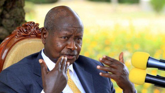Pays merde président ougandais soutient Donald Trump