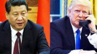 Rencontre téléphonique entre Donald Trump et Xi Jinping: la Maison Blanche pointe le déficit commercial avec la Chine