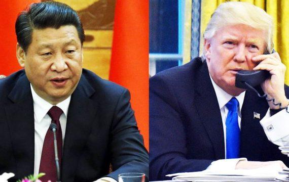 Rencontre téléphonique Donald Trump Xi Jinping déficit commercial Chine