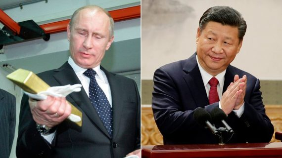 Russie Chine augmenter Réserves