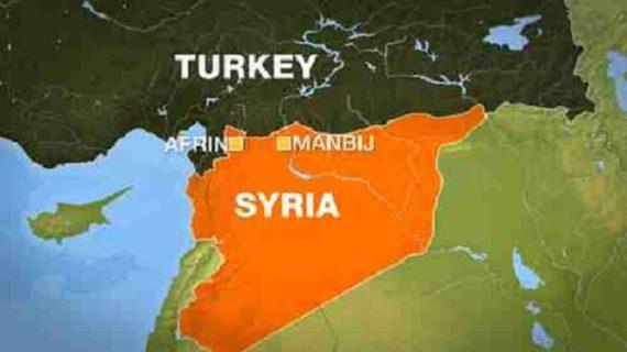 Turquie frappe Kurdes YPG territoire syrien Russie