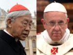 La phrase: «Le Vatican est-il en train de vendre l'Eglise catholique en Chine? Oui, tout à fait.»