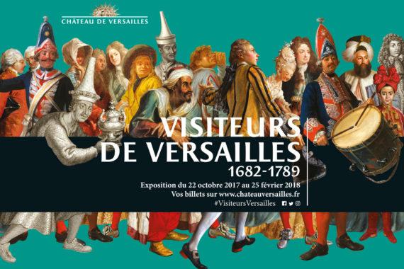Visiteurs Versailles Histoire Exposition