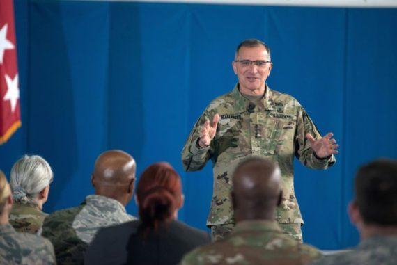 commandeur suprême OTAN Europe avance organisation atlantique Russie menacée