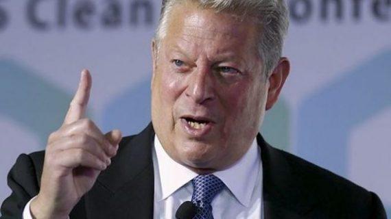 grand froid terre réchauffe Al Gore