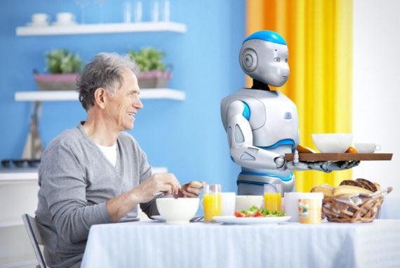 personnes âgées robots Chine Intelligence artificielle