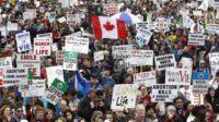 Les subventions publiques au Canada réservées aux organisations qui déclarent soutenir les «droits reproductifs», c'est-à-dire l'avortement