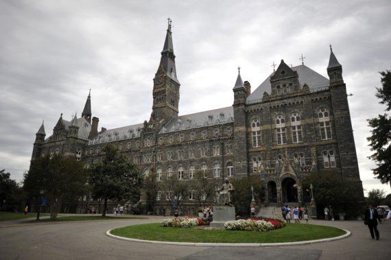 université jésuite Georgetown logements étudiants LGBT Washington création