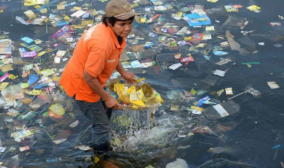90 plastique océans proviennent Asie Afrique