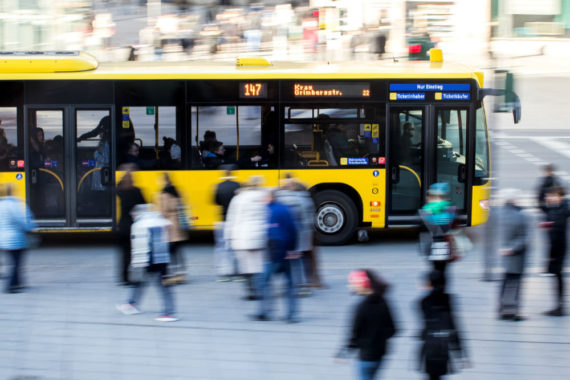 Allemagne transports publics gratuits villes polluées