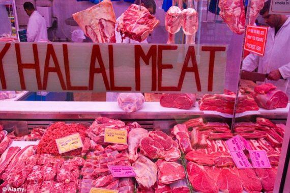 Britanniques viande halal étiquette