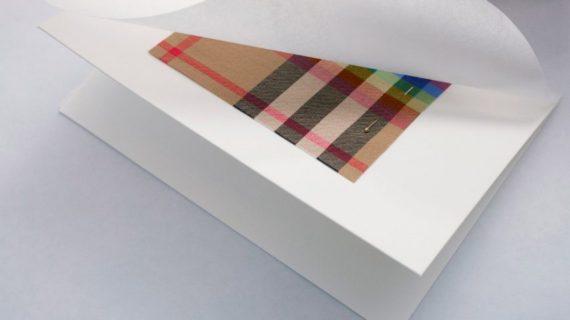 Burberry tartan arc ciel légendaire tissu LGBT