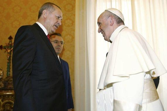 Erdogan pape avis question Jérusalem