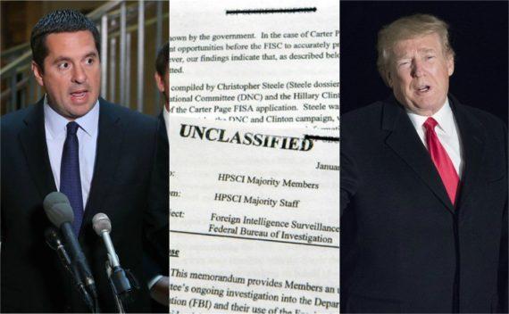 FISA Trump collusion Russie FBI mémorandum déclassifié