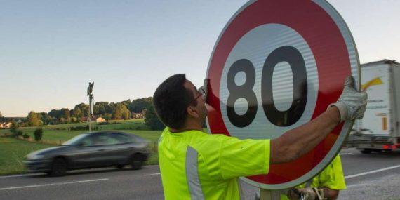 Limitation 80 km ralentir économie OCDE