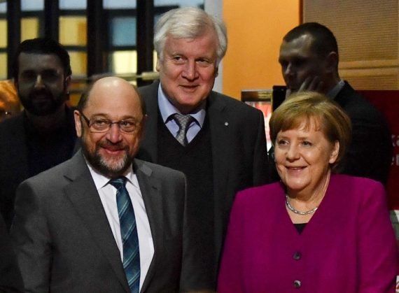 Merkel Schultz Grande Coalition Groko Mondialisme