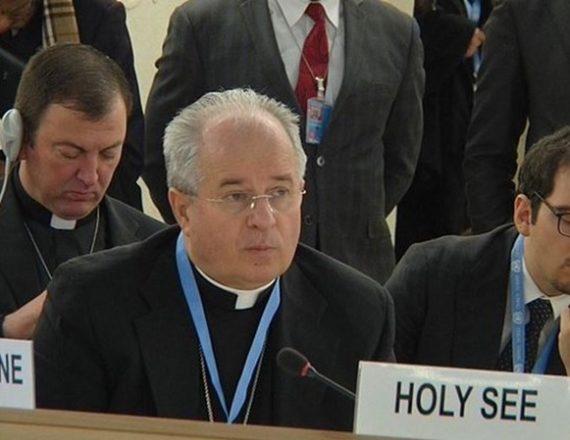 Pacte mondial réfugiés Saint Siège ONU Mgr Ivan Jurkovič