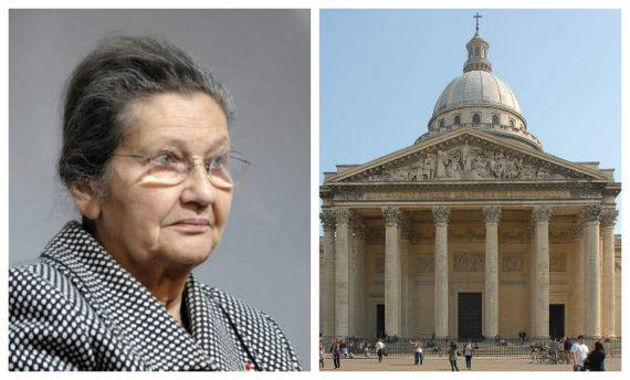 Simone Veil Panthéon époux Antoine 1er juillet