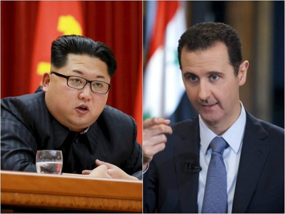 Syrie renforcer liens Corée Nord