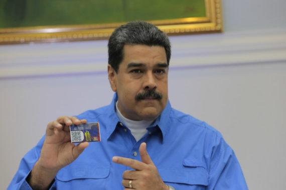 Venezuela Nicolas Maduro crypto monnaie nationale petro acte naissance président