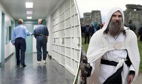 aumôniers païens prisons Royaume Uni
